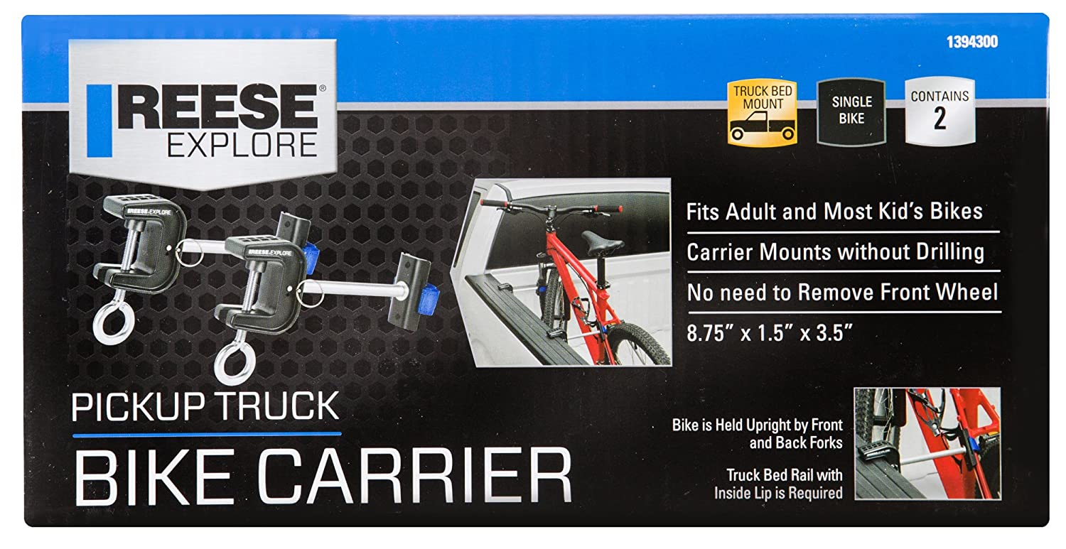 Reese Explore 1394300 Pickup Truck Bike Carrier Set of 2