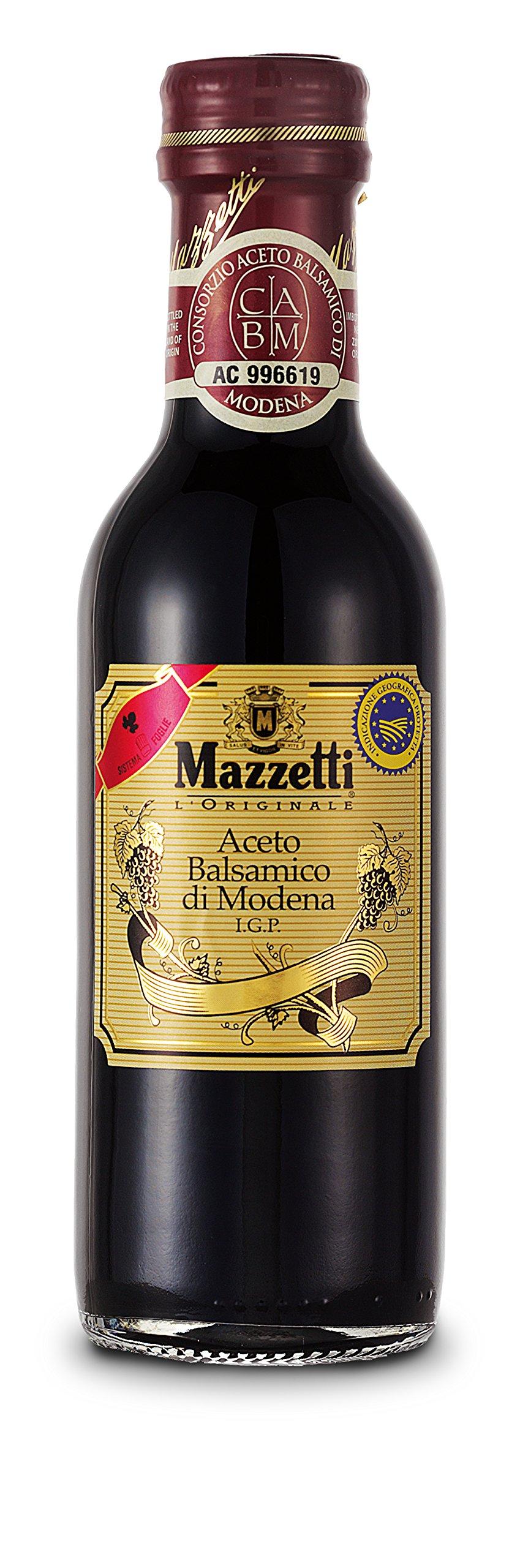 Mazzetti Aseto Balsamic Vinegar 250ml 1 Mazzetti Balsamic Vinegar Of Modena 6% acidity with pop up pourer.