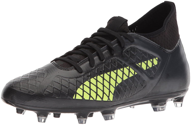 PUMA Men's Future 18.3 FG/AG Soccer Shoe B072MZL8JC 12 D(M) US|Puma Black-fizzy Yellow-asphalt