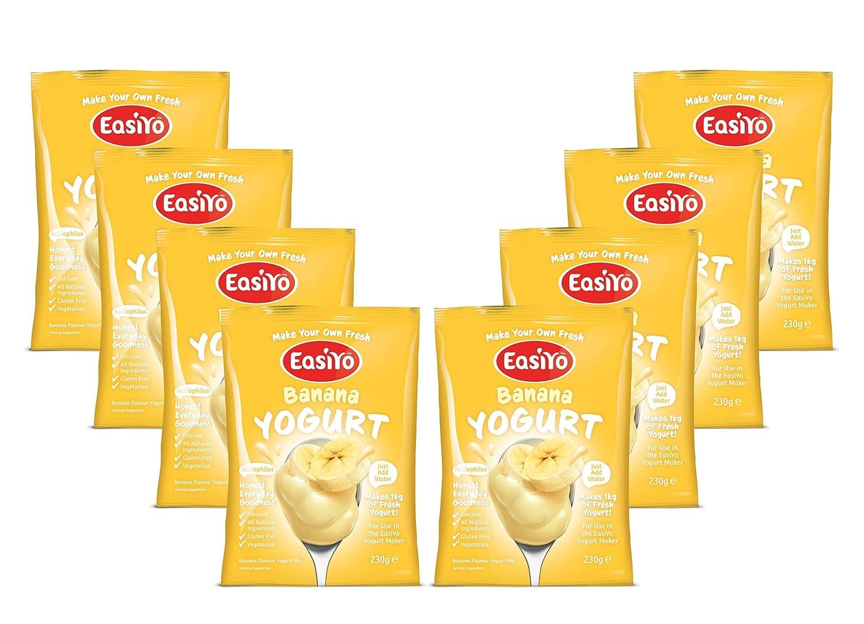 Easiyo Banana Yogurt Mix 8 x 240g Sachets