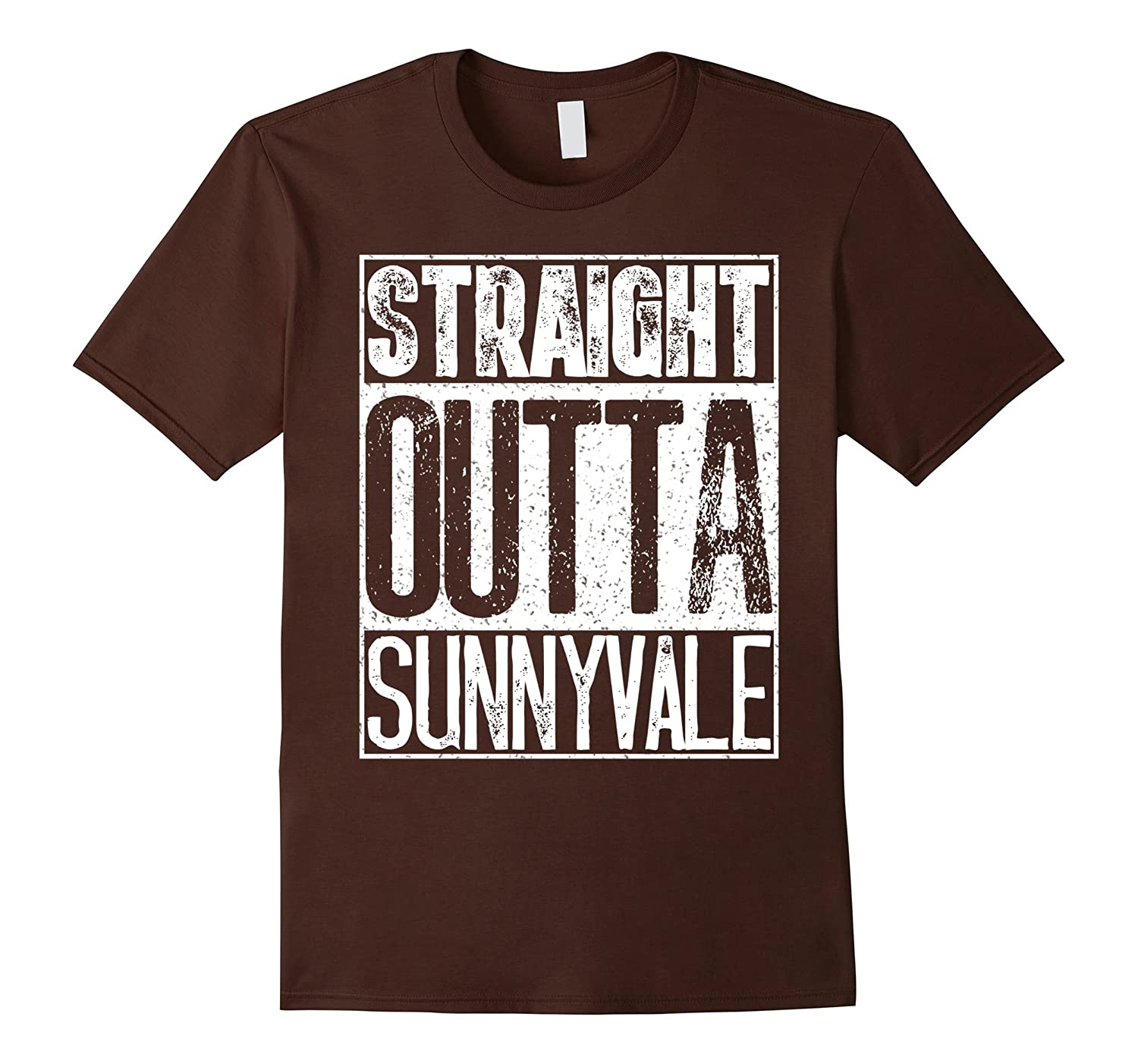 Straight Outta Sunnyvale Trailer Park Shirt - Camping Gift-fa