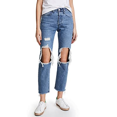 3x1 Women's W3 Higher Ground BF Crop Jeans at Women's Jeans store