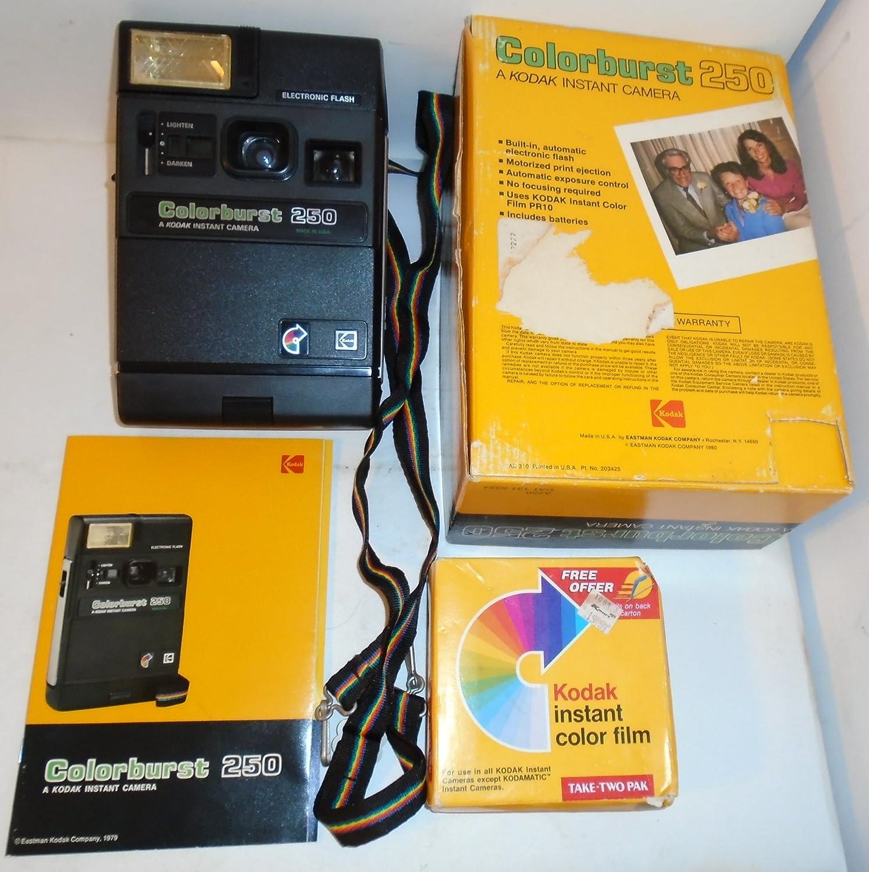 Kodak Colorburst 250 Instant Kamera Electronic Flash Kamera