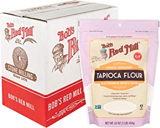 product image for Bob's Red Mill (Resealable) Finely Ground Tapioca Flour, 16-ounce (Pack of 4)