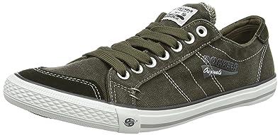 Mens 30st027-790850 Low-Top Sneakers, Khaki Dockers by Gerli