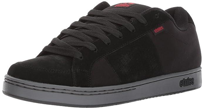 Etnies Kingpin Sneaker Skateschuhe Herren Schwarz (Black/Charcoal/Red)