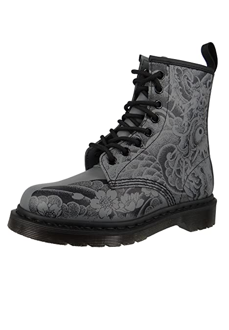 Unisex Adults Dr Martens 1460 Print Orignals Tattoo Backhand
