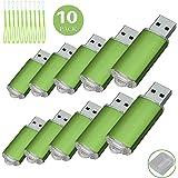 10 Pack USB-Flash Drive USB 2.0 Memory Stick Memory Drive Pen Drive grün 1 GB