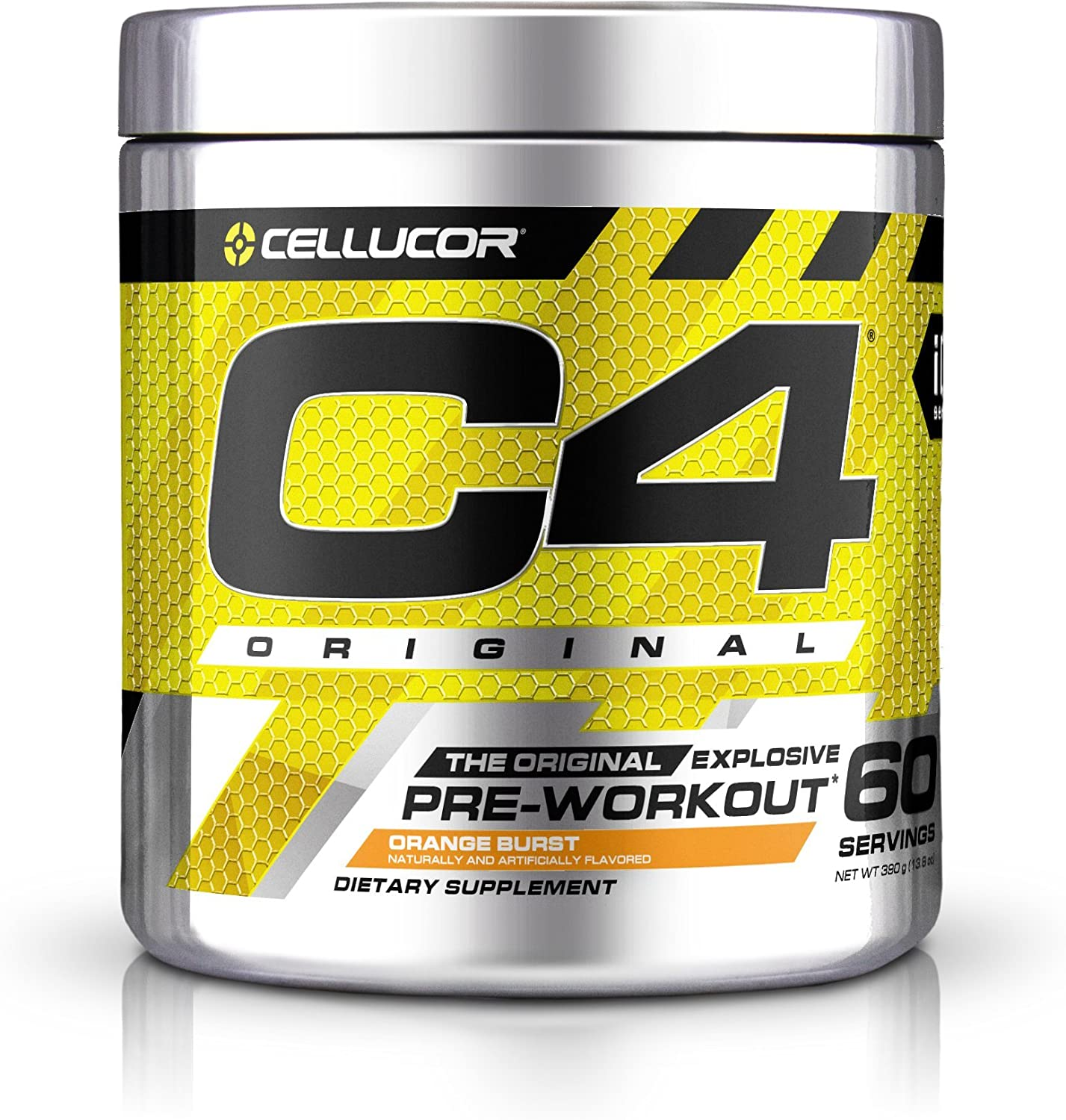 Cellucor C4 Original, Orange Burst 60 Servings, 0.9 Pound