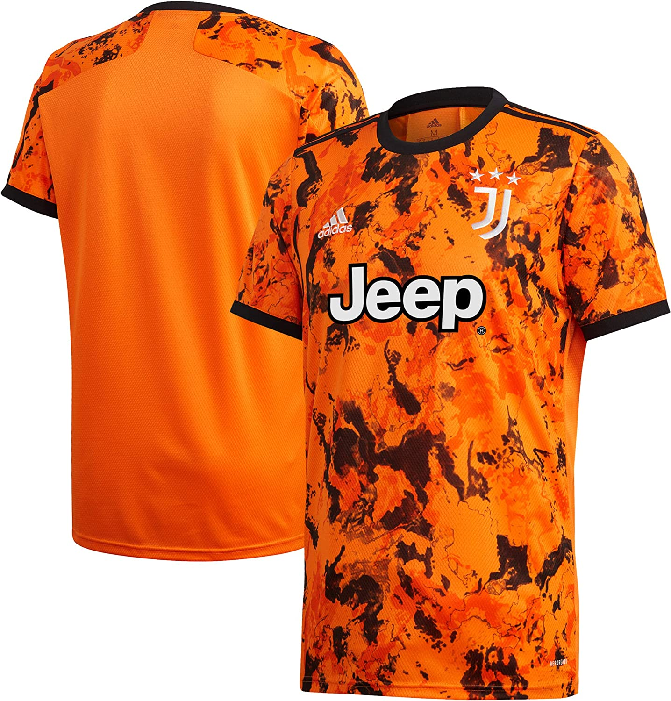 Amazon.com: adidas 2020-21 Juventus Youth Third Jersey - Orange ...