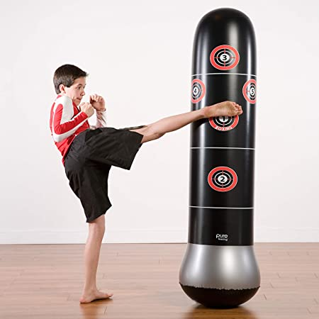 Details about  /PU Leather Arc-shape Foot Target Boxing Arm Shield Curve Pad Punching Bag MMA Ka