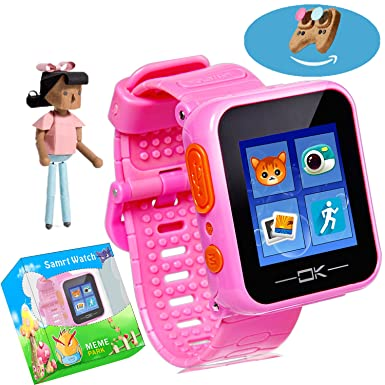 Juego reloj inteligente con Virtual Cyber mascota cámara podómetro temporizador alarma reloj juguete reloj de pulsera