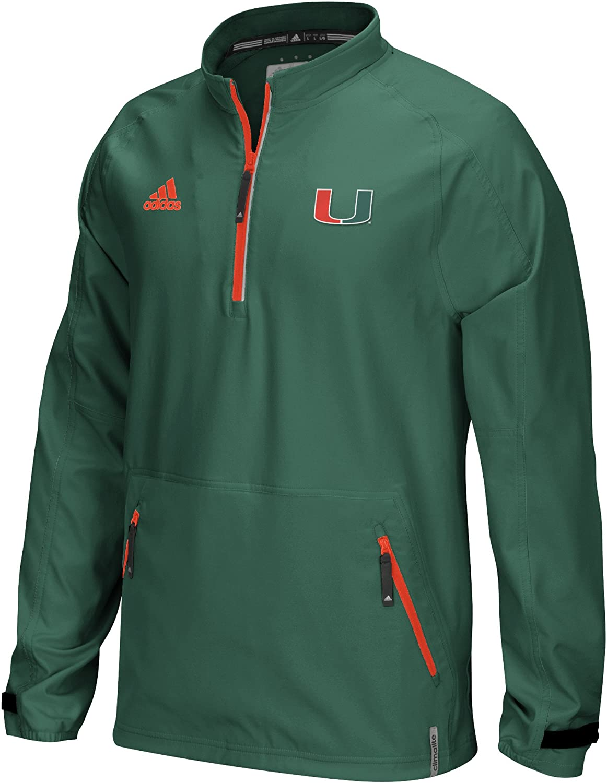 NCAA Men's Sideline Woven 1/4 Zip Jacket