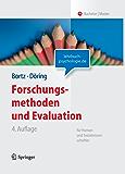 Forschungsmethoden und Evaluation: für Human- und Sozialwissenschaftler: Fur Human- Und Sozialwissenschaftler (Springer-Lehrbuch)