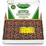 Crayola BIN528019 Crayon Classpack, Reg Size, 64 Colors, Pack of 832