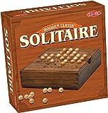 Tactic - 14025 - Jeu Classique - Jeux De Voyage En Bois: Solitaire