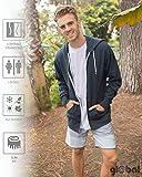 Global Men's or Women's Slim Fit Lightweight Zip Up Hoodie XXXL Navy