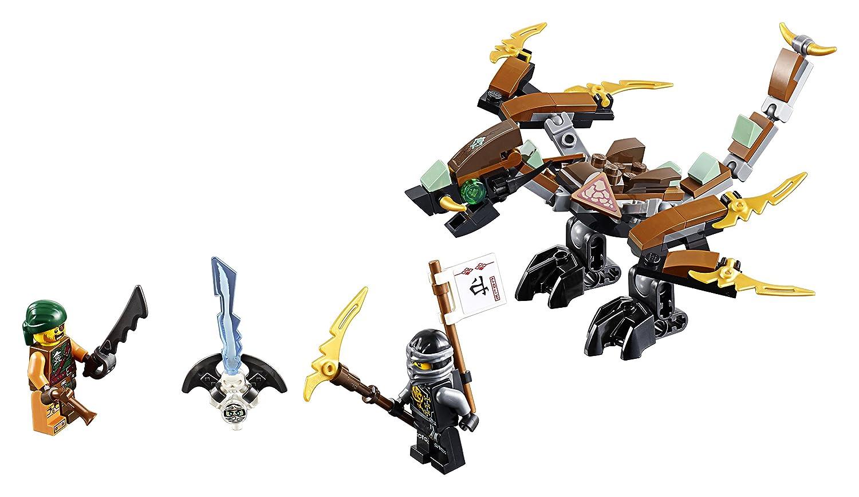 amazoncom lego ninjago coles dragon 70599 toys games