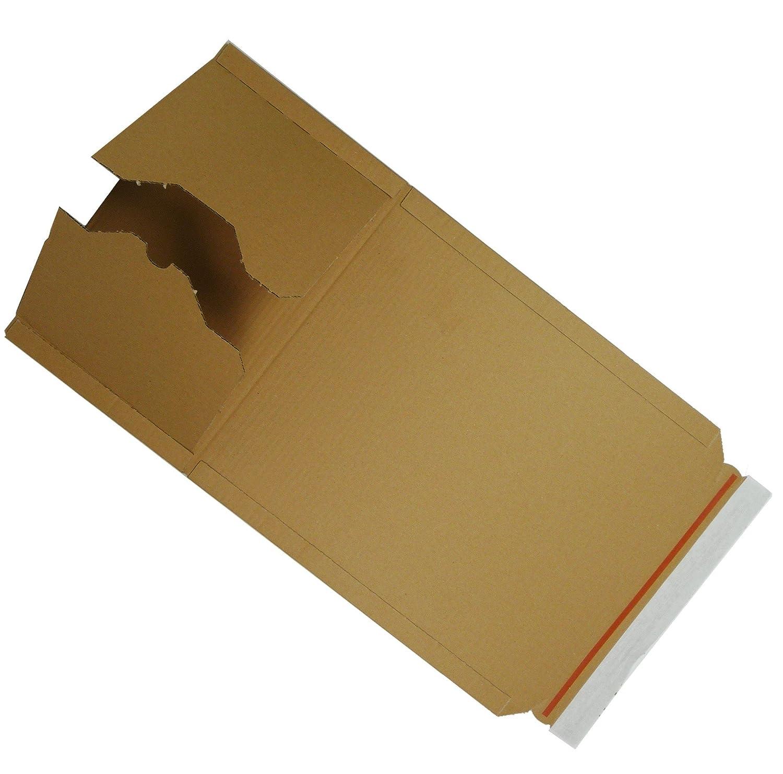 100 St/ück Buchverpackung A4 Verpackung Buchkarton 300 x 220 x 80 Innenma/ß /…