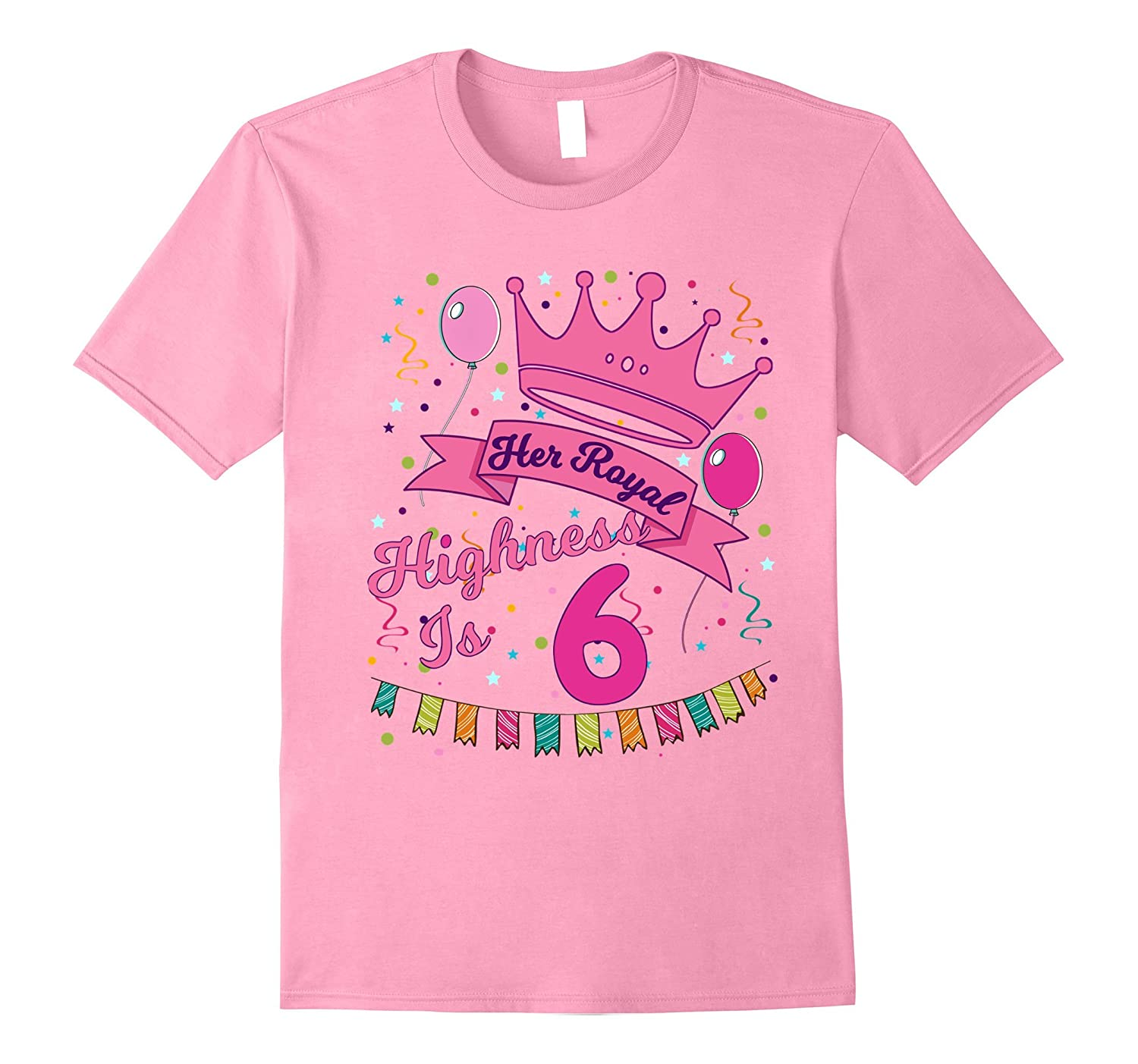 Kids Her Royal Highness 6 Year Old Girl Birthday Gift