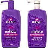 AUSSIE Total Miracle 7 in 1 Shampoo & Conditioner 26.2 FL OZ ( 1 bottle each )
