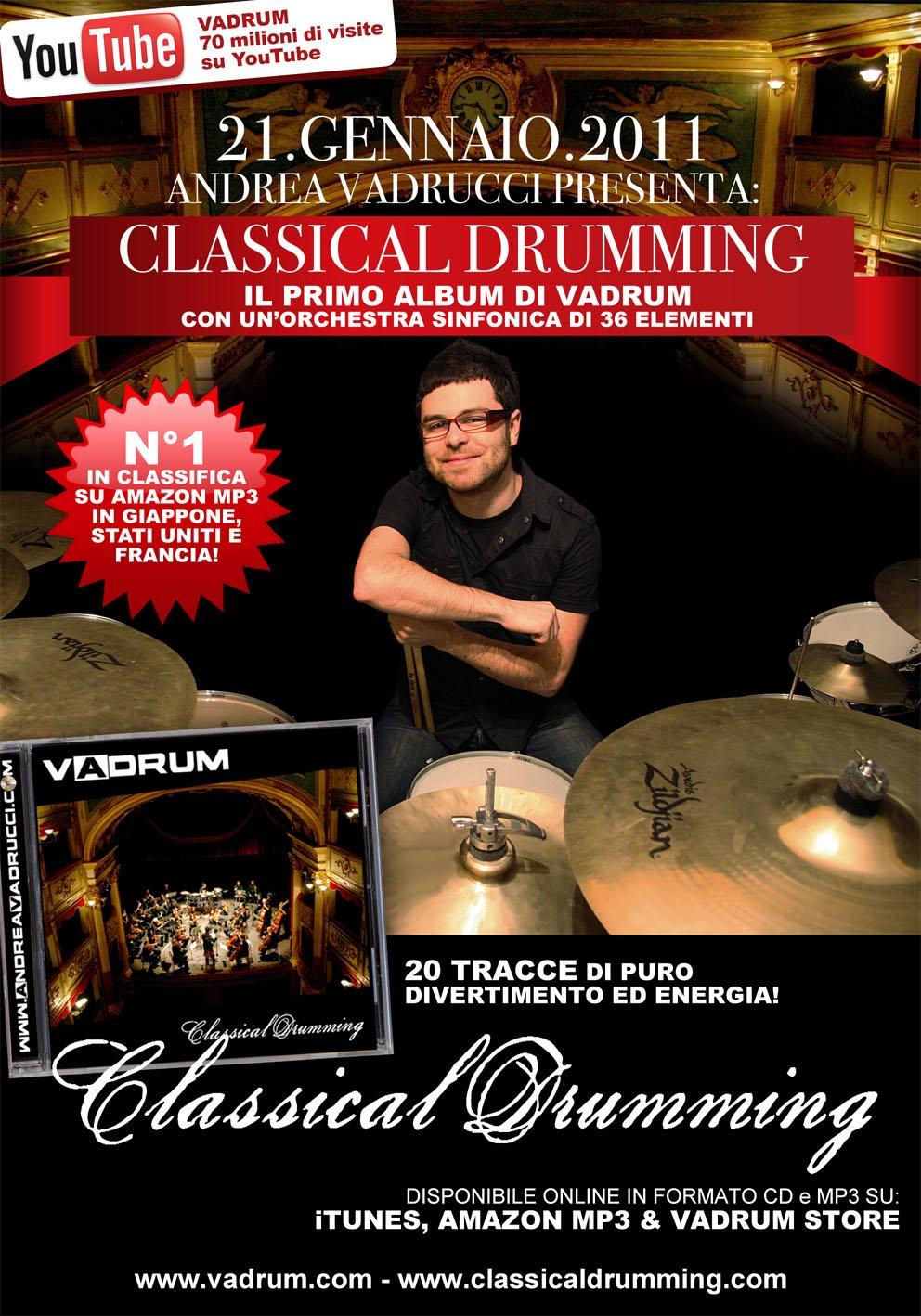cd vadrum classical drumming