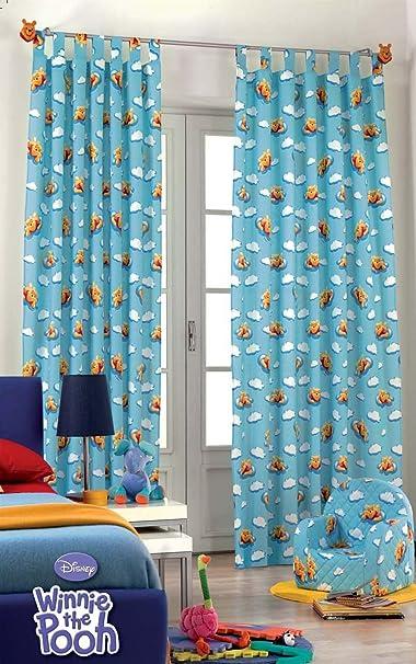 230//150 Pooh mein Stern NEU Disney by Julius Zöllner Vorhang 2 Schals