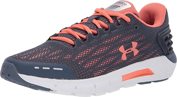 Under Armour Charged Rogue Sneakers Laufschuhe Grau/Orange