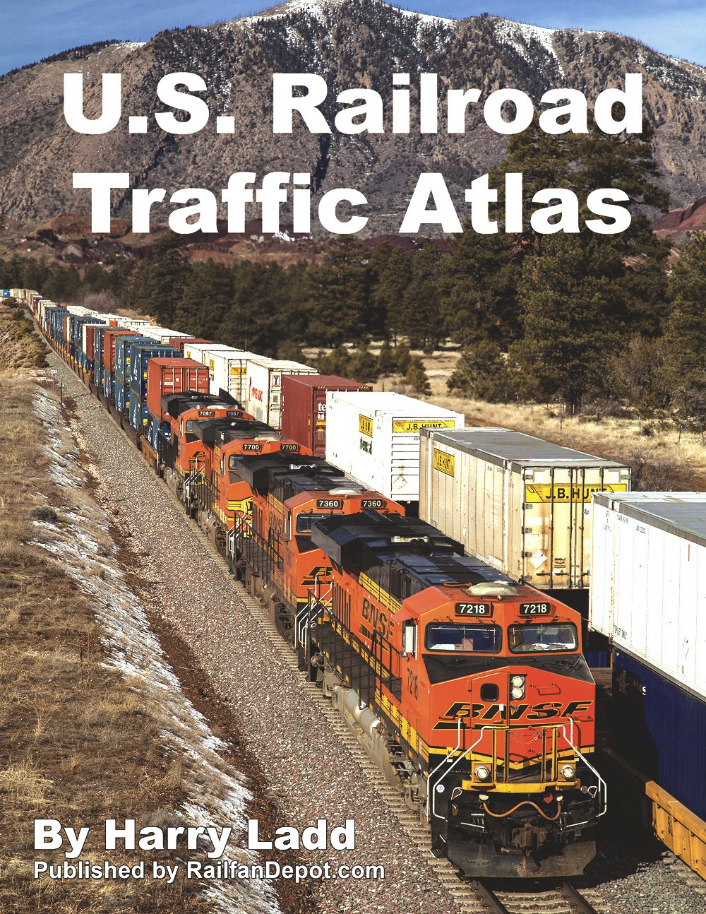US Railroad Traffic Atlas Harry Ladd  Amazoncom - Us railroad traffic map