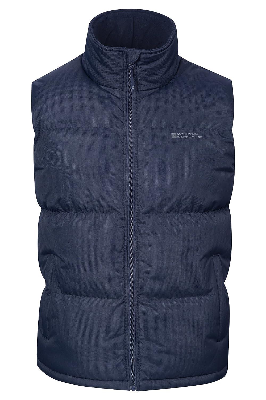 Mountain Warehouse Rock Mens Padded Gilet - Waterproof Vest Jacket
