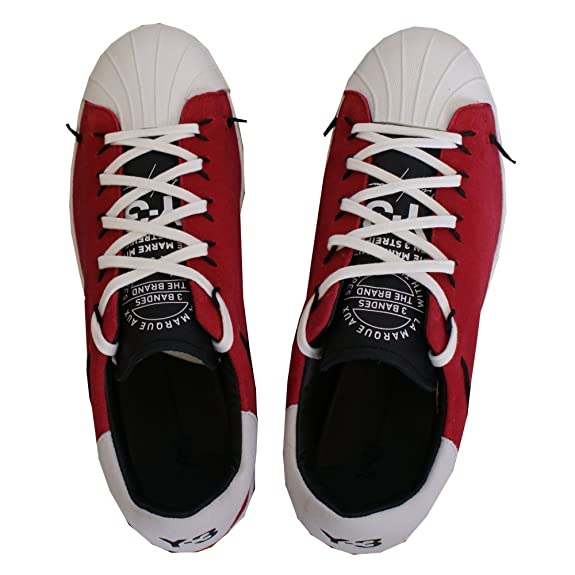 60cfefdc712b8 adidas Y-3 Super Knot Chilli Pepper Red UK 11  Amazon.co.uk  Shoes   Bags