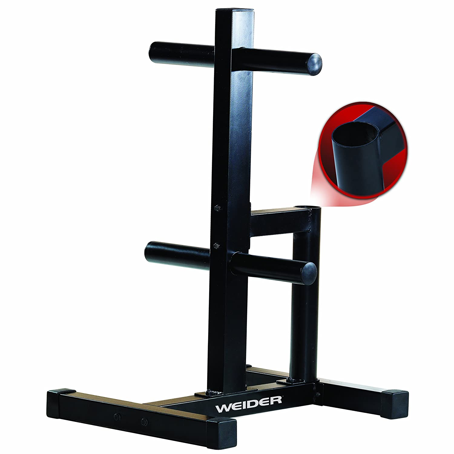 Weider Olympic Weight Plate Storage Rack