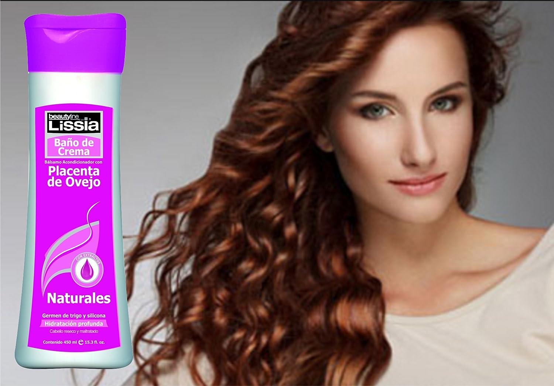 Amazon.com : lissia Placenta De Ovejo Baño de crema /Sheep Placenta shower cream/deep conditioner 450gr/15oz : Beauty