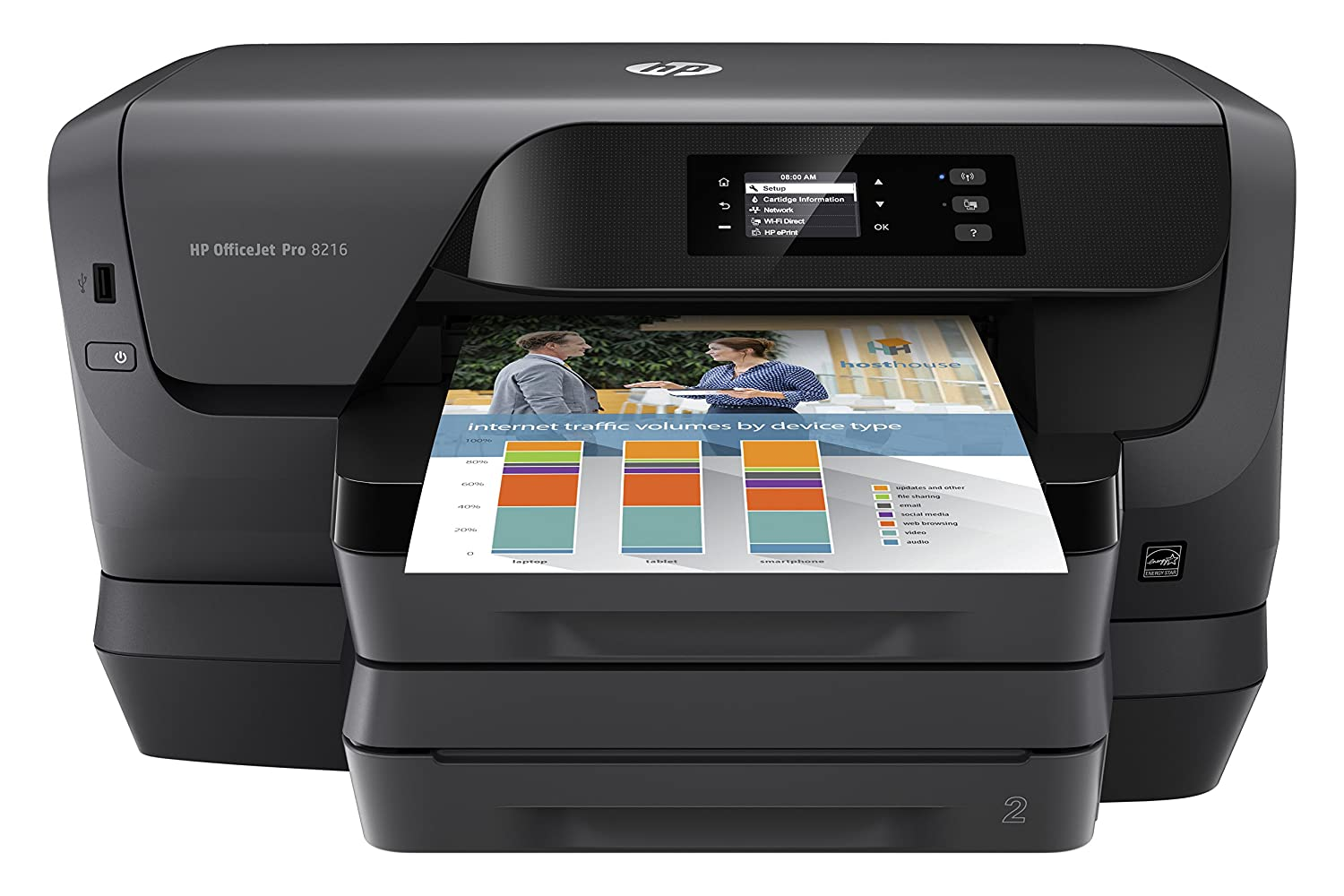 Amazon Com Hp Officejet Pro 8216 Wireless Professional Quality