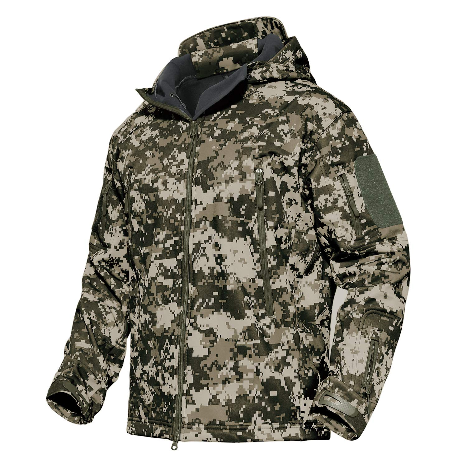 MAGCOMSEN Military Jacket Men Hunting Ski Snow Jacket Camping Jackets Warm Thick Jackets Winter Jacket by MAGCOMSEN