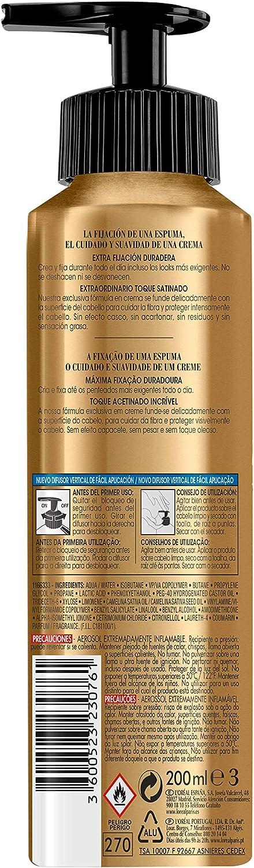 LÓreal Paris Elnett Mousse Fijación Volumen, Espuma Para El Pelo - 200ml: Amazon.es: Belleza