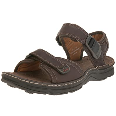b84756e589065 Clarks Men's 20339068 Open Toe Sandals Brown Size: 12 UK: Amazon.co ...
