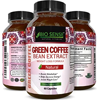 Amazon Com Green Coffee Bean Extract Weight Loss Supplement