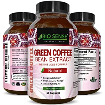 Green Coffee Bean Natural And Potent Weight Loss Pills For Men And Women Burn Belly Fat Metabolism