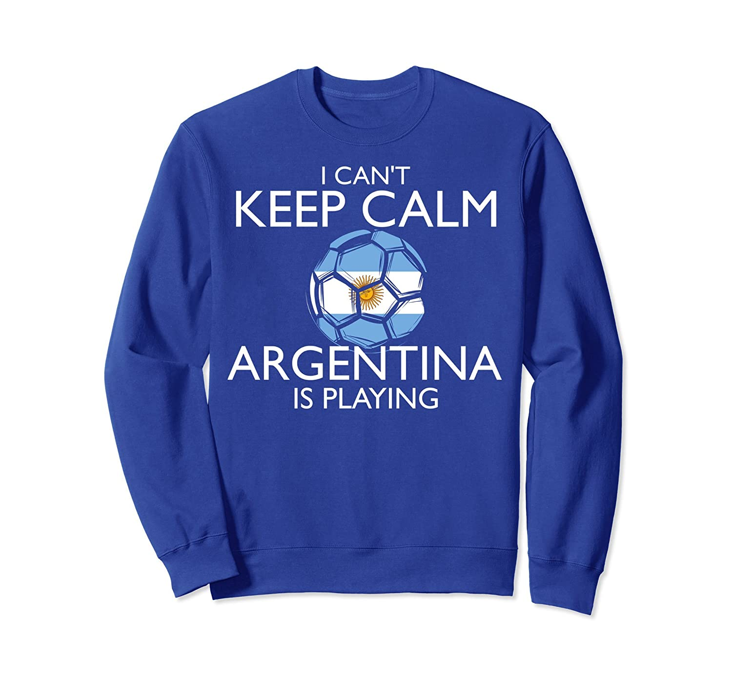 Argentina Football Jersey 2018 Argentinian Soccer Sweatshirt-alottee gift
