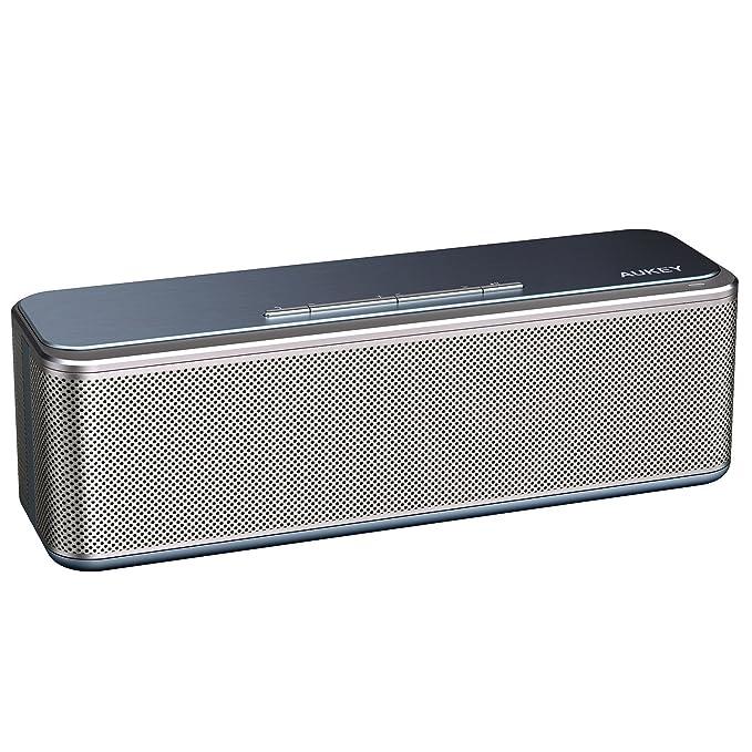 150 opinioni per AUKEY Cassa Bluetooth CSR 4.0 con DSP Chip, 16W Doppio Driver e Bass-Radiatori,