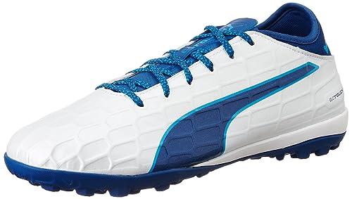 Puma Evotouch 3 IT Scarpe da Calcio Uomo Bianco White True Blue Blue