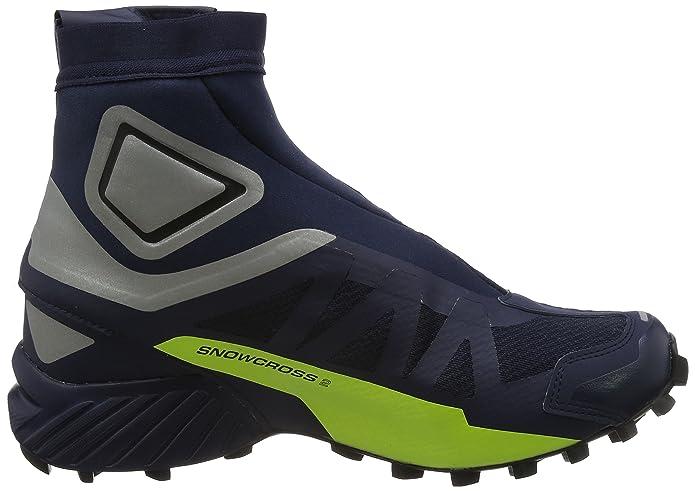 the latest 95185 9b3ab SALOMON Unisex Snowcross 2 CSWP Outdoor Boots, Navy, Mesh ...