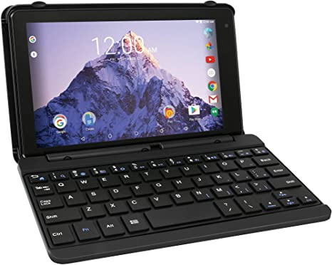 RCA Tablet Voyager Pro 7 de 16 GB con funda para teclado Android 6.0 (Marshmallow) en carbón (RCT6873W42KC M)