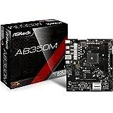 ASRock AB350M Socket AM4 AMD B350 DDR4 SATA3&USB3.0 M.2 MicroATX Motherboard