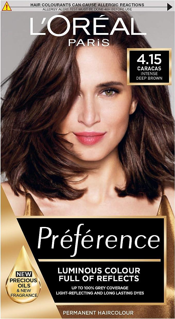 LOreal Paris Preference Infinia, intense deep brown: Amazon ...