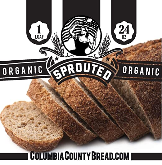 Columbia County Bread & Granola Organic Sprouted Wheat Artisan Loaf Bread