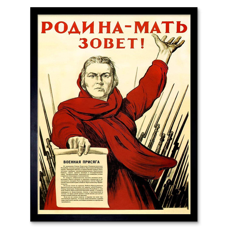 Amazon.com: War Propaganda WW2 Patria Unión Soviética ...