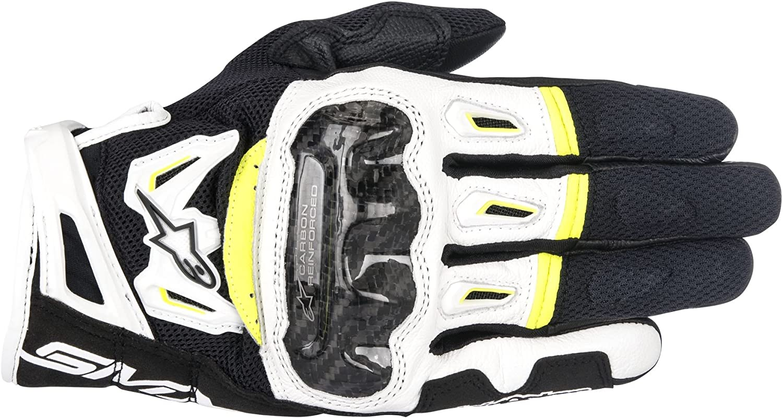Alpinestars SMX-2 Air Carbon V2 Leather Gloves Medium Black