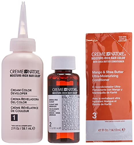 Amazon.com : Creme of Nature Moisture Rich Hair Color Kit, Light Blonde : Beauty